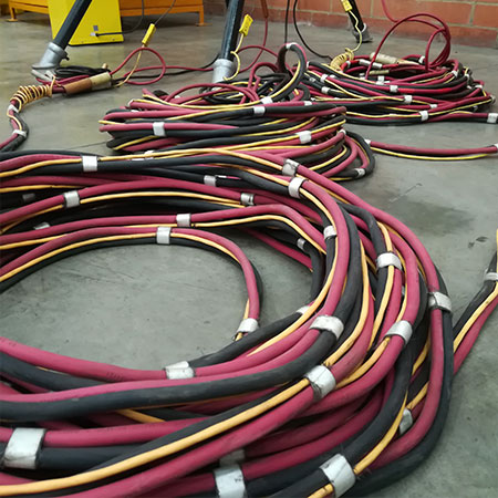 Cables Triple Set, Splitters, Cables de aislamiento
